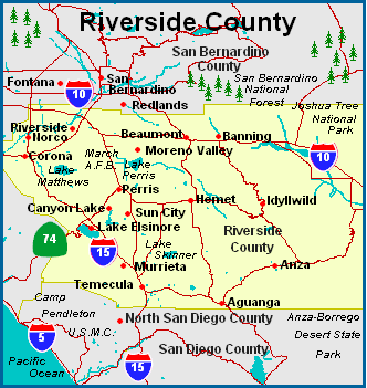 RCDP Service Area – Riverside County Democratic Party